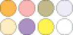 Pluffy Multi Pack полимерная глина K3 4032 Pastel