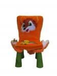 Чехол на детский стул - зверюшка